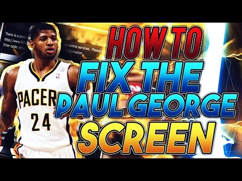 NBA 2K17 - How To Fix The Paul George Screen Less Than 2 Mins (90 %) WORKS!!!!