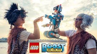 #4 레고부스트를 만난 원시인들!ㅋㅋㅋㅋ 레전드꿀잼 [ 꾹TV ] (#4 When Caveman Meets LEGO BOOST!!)