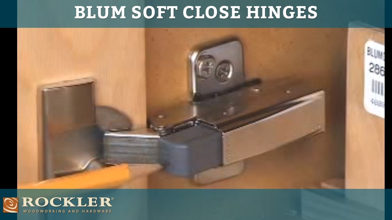 Blum Soft Close Hinge Options Youtube