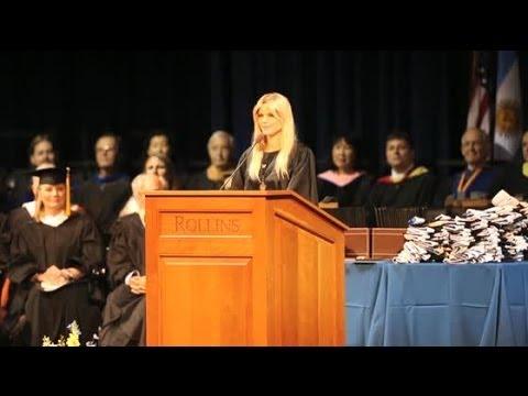 Elin Nordegren is Rollins College's 2014 Outstanding Graduating Senior | Splash News TV