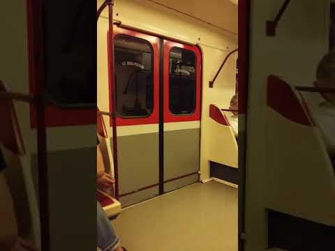 Noisy trains of Tbilisi Metro!! (No complaints though, loved