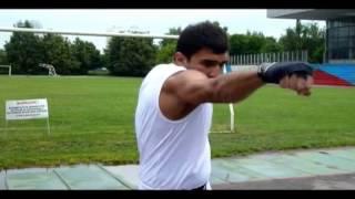 Видео уроки бокса для начинающих. Джэб - прямой удар.
