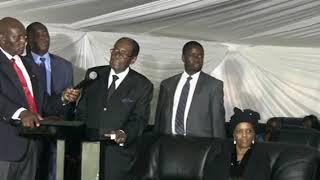 Mugabe said i didnt know Mnangagwa had ambitions to be president