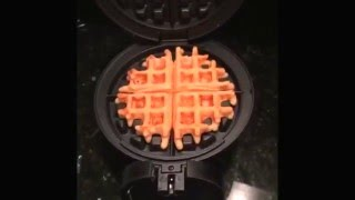 I Wanted Waffles. I Had No Waffle Maker. Amazon Prime Now To The Rescue.