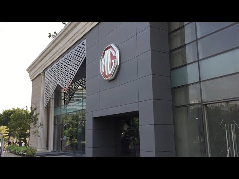 INDIA BIGGEST  MG SHOWROOM - VLOG