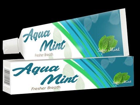 Taste the Feeling of Freshness - Aqua Mint Toothpaste Commercial