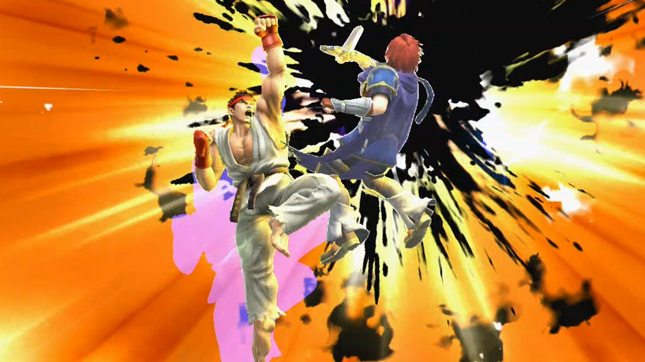 Super Smash Bros Wii U Lucas Roy Amp Ryu DLC Final Smashes Taunts New Stages Kirby Hats Etc
