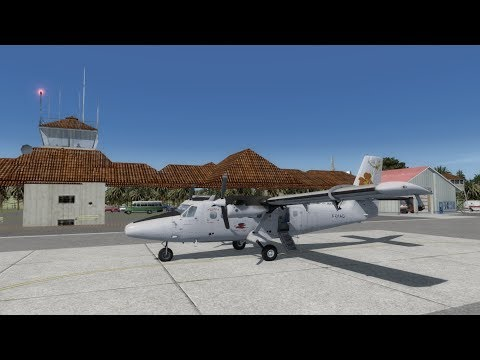 [P3D] Nouméa Tontouta-Lifou Ouanaham   AirCalin   DHC-6/300