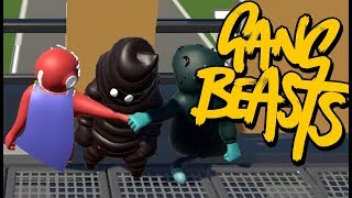 CONTAIN THE POOPMAN! | Gang Beasts #9