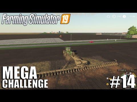 MEGA Equipment Challenge 2.0 | Timelapse #14 | Nebraska Map | FS19 | Farming Simulator 19
