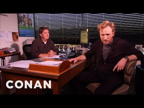 Conan Meets His Censor At TBS