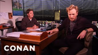 Now that he's on cable, Conan visits his censor to test the boundaries of what he can and cannot do. More CONAN @ http://teamcoco.com/video Team Coco is ...
