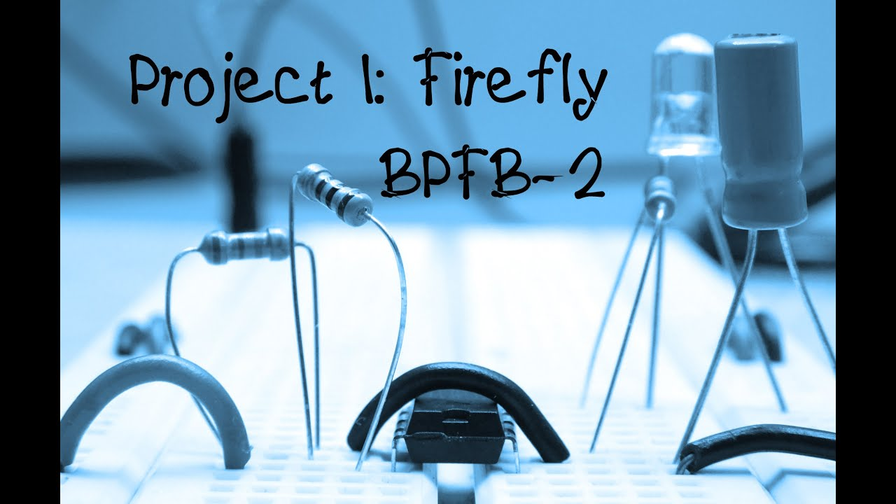 5 More Breadboard Projects For Beginners Project 1 Firefly Diy Wire Diagram How To Make Instructions