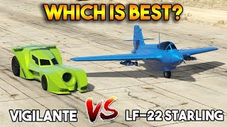 GTA 5 ONLINE : VIGILANTE VS STARLING (WHICH IS BEST?)