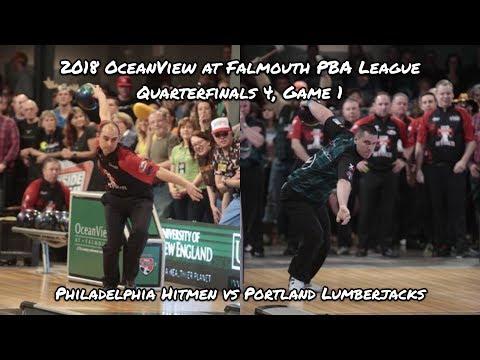 2018 PBA League Quarterfinals #4, Game 1 – Philadelphia Hitmen vs Portland Lumberjacks