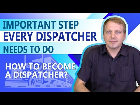 🆕Important Step Every Dispatcher Needs Know How To Become A Freight Dispatcher Check It Out!