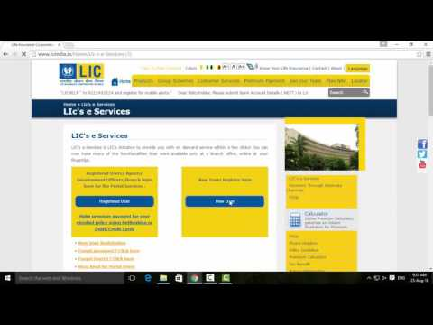 How To Register For LIC Premium Payment Account - Tamil TechGuruJi