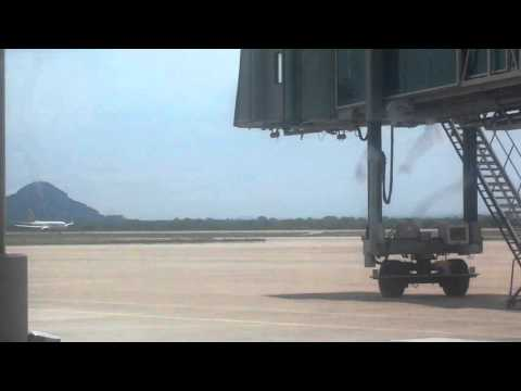 Ethiopian Airlines Boeing 737-800 taking off from Gaborone