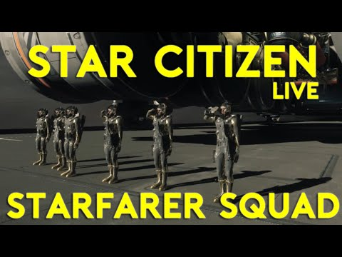 8 MAN SQUAD VOIP | Star Citizen 2.5 Gameplay | Live Wednesday | (9/8/16)