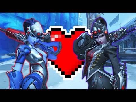 1V1 RE-REMATCH WITH MY GIRLFRIEND!  | OVERWATCH LIVE