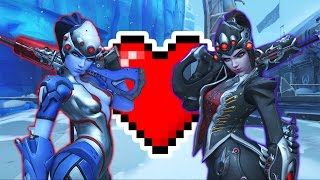 1V1 RE-REMATCH WITH MY GIRLFRIEND!    OVERWATCH LIVE