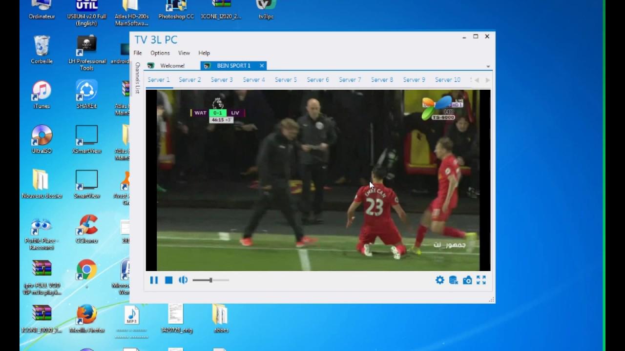 TV 3L PC comment installer et comment ça marche