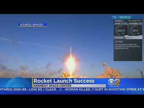 SpaceX Launches Spy Satellite For U.S. Government
