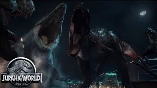 Mosasaurus vs Submarine - Jurassic World Fallen Kingdom Dinosaurs - Jurassic World Chaos Theory