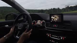 2018 Audi Q5 2.0T: Night Drive