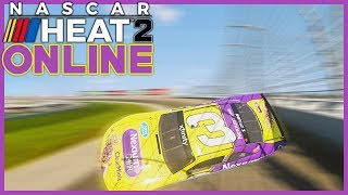 ONE OF THE LAGGIEST RACES YOU WILL SEE - NASCAR Heat 2 Online