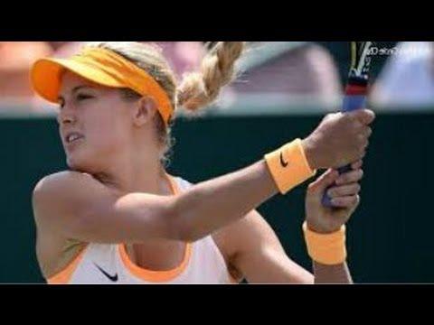 Eugenie Bouchard Big Win over Karolina Pliskova 2014 Nurnberg FINAL