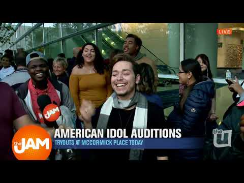 American Idol Auditions at McCormick Place