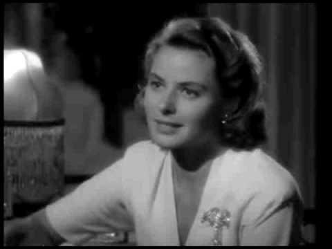 Casablanca: Piano Scene