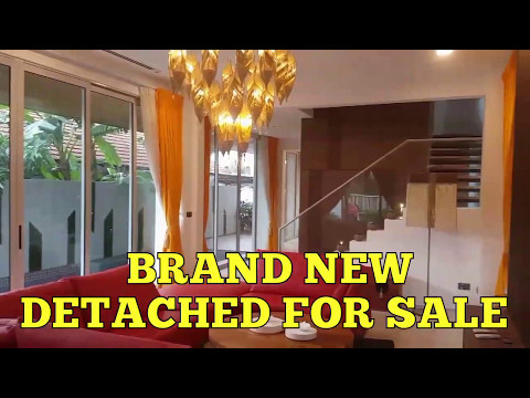 Brand New Detached at Serangoon Garden | Landed Property For Sale Singapore