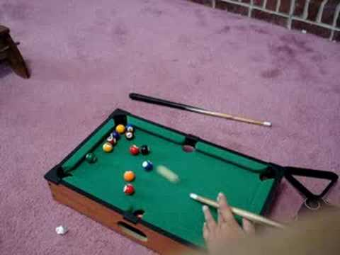 Mini Pool Table Top Game