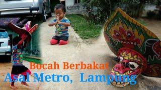 vuclip Ucup, Bocah Metro Lampung yg Berbakat melestarikan kesenian Jaranan / Kuda Lumping..