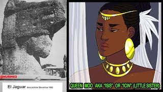 Pt. 8 - Untold Ancient American Truth/ Queen Moo is Isis/Ancient Egypt in America/Mayas/Sphinx