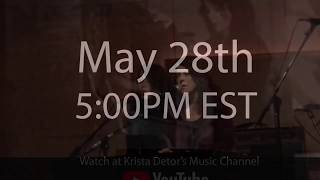 Krista Detor LIVE from Airtime Studios May 28th!