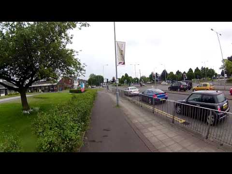 24-05-2014 - Cycling Radcliffe to Manchester (Accident in Salford) - Lupus Rides