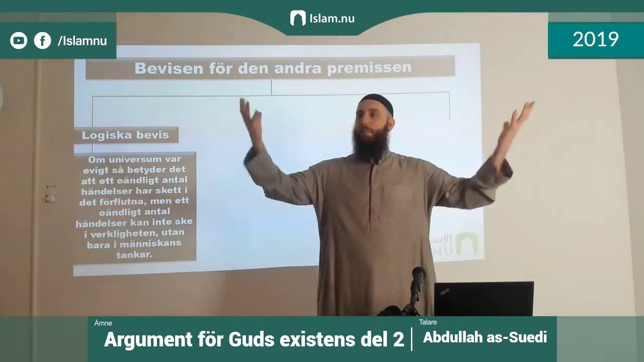 Argument för Guds existens | del 2 av 4 | Shaykh Abdullah as-Sueidi