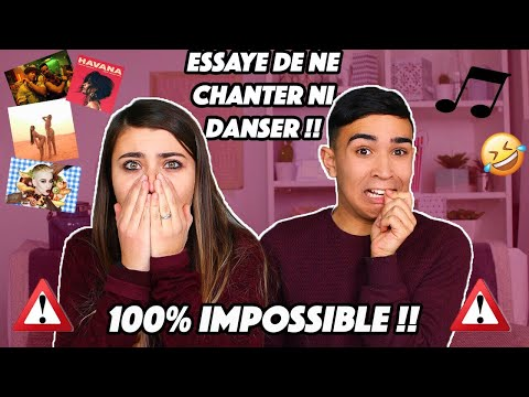 TRY NOT TO SING OR DANCE !!!! Jonathan Et Amandine