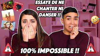 ESSAYE DE NE PAS CHANTER NI DANSER !! (IMPOSSIBLE) Jonathan Et Amandine