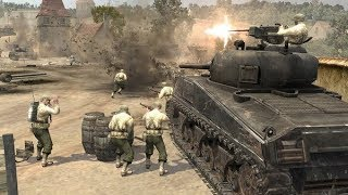 Company of heroes 1vs1 Automatch Panzer Elite Vs America Semois   Silent Game #22