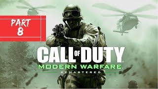 I PLAY   CALL OF DUTY:MODERN WARFARE REMASTERED PART #8   SAFE HOUSE   XBOX ONE
