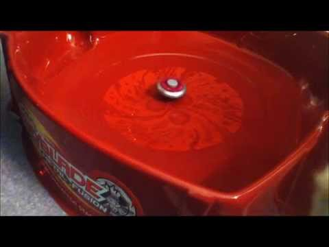 Beyblade metal fusion rock aries vs poison serpent part 3 ...