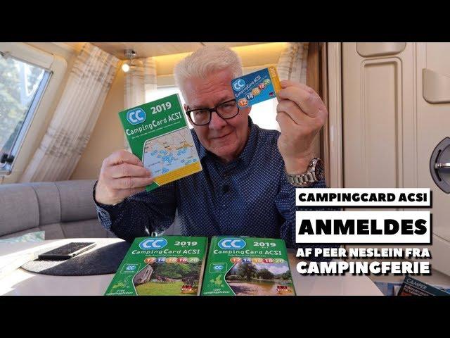 CampingCard ACSI anmeldes af Peer Neslein fra Campingferie.dk
