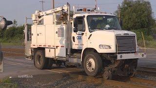 (5) Railing a CSX Welding Truck @ Blasdell  July 25 2014