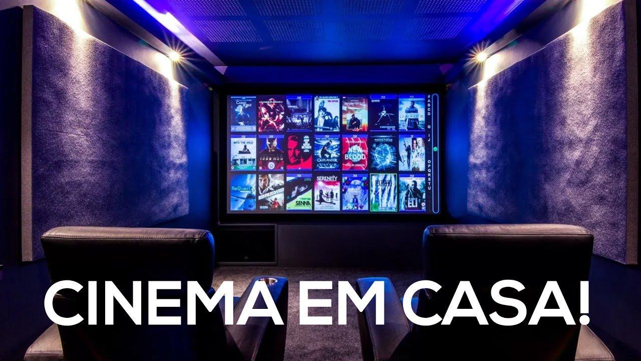 Ilumina o automatizada sala de cinema em casa luz - Realizzare sala cinema in casa ...