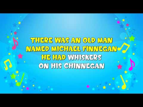Michael Finnegan | Sing A Long | Nursery Rhyme | KiddieOK