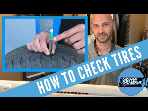 How to Check Tires | Graham Auto Repair